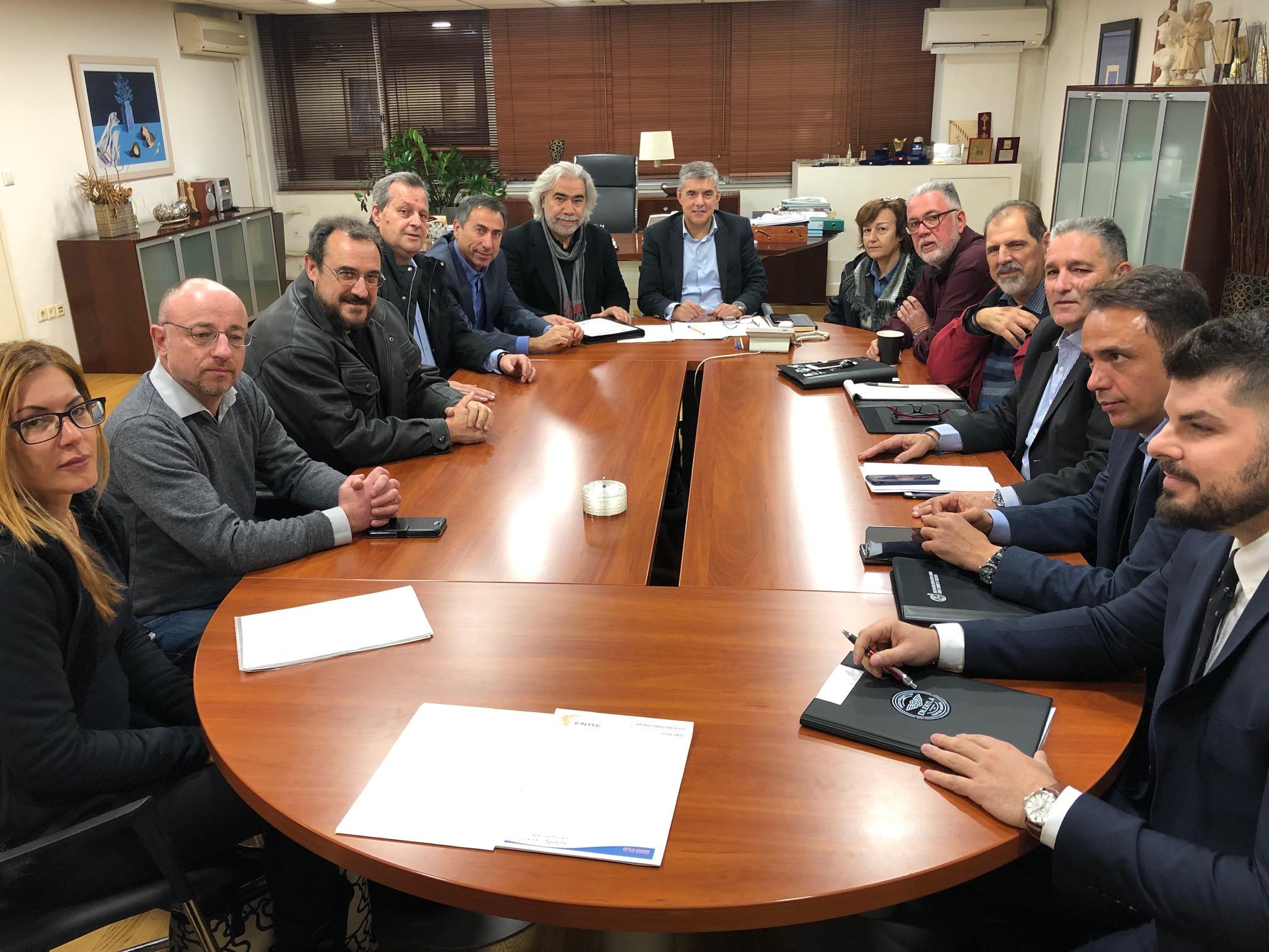 Αποτέλεσμα εικόνας για Συνεδρίαση της Εκτελεστικής Επιτροπής της ΕΝΠΕ για τα ταμειακά διαθέσιμα των Περιφερειών, στο γραφείο του Περιφερειάρχη Κεντρικής Μακεδονίας Απόστολου Τζιτζικώστα
